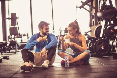 Wat kun je eten voor een training?