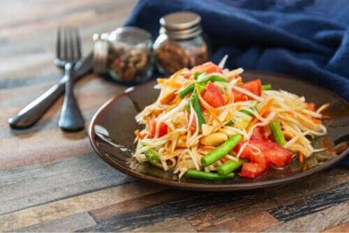 Papajasalade: een snel en heerlijk recept