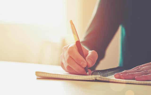 Hoe krijg je schrijverseelt