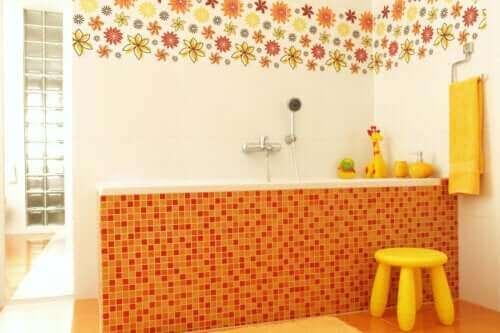 Zeven ideeën voor een kindvriendelijke inrichting van de badkamer