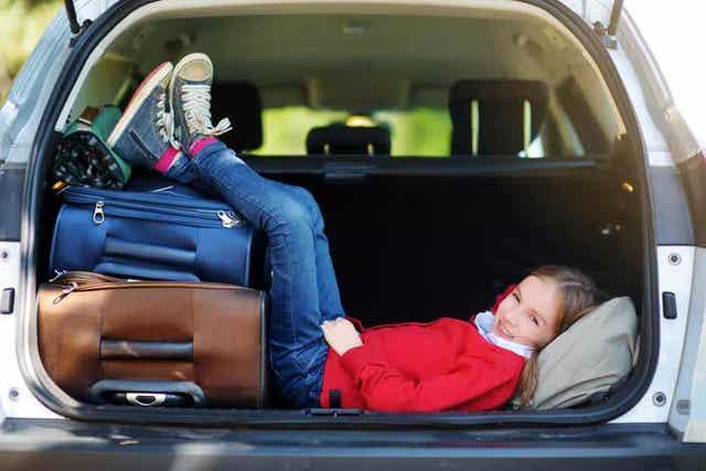 Kind is even aan het rusten