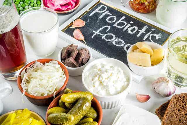 Voedingsmiddelen met probiotica