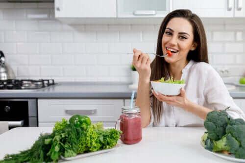 Ontdek hoe je dieet de huid beïnvloedt