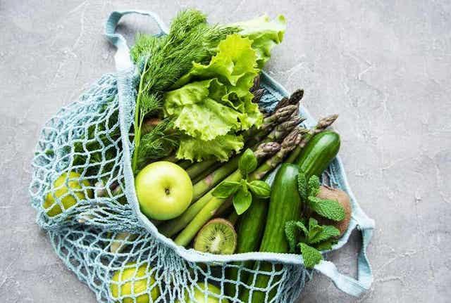Eet groenten en fruit