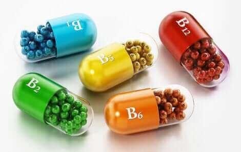 Vitamine B helpt bij haarverlies tijdens de borstvoeding