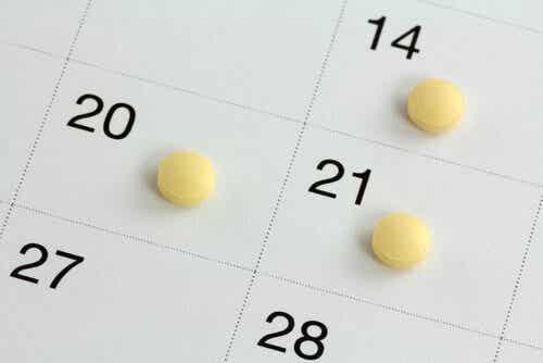 De pil en dagen van de week