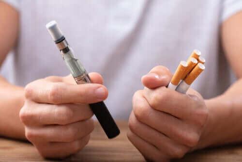 Is vapen een beter alternatief dan voorgoed stoppen met roken?