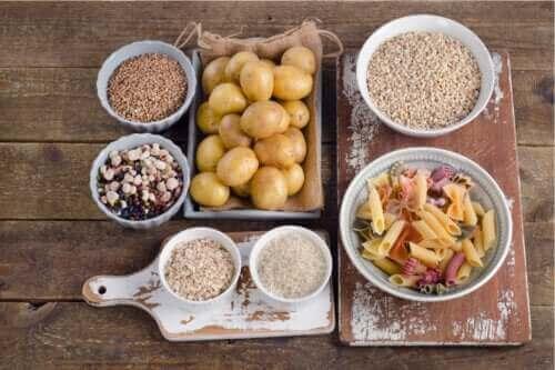 3 gezonde voedingsmiddelen rijk aan koolhydraten