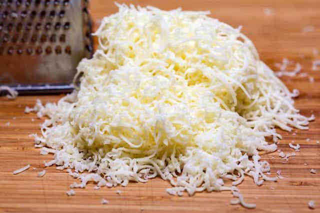 Verse geraspte kaas