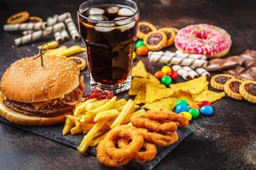 Snoep en fastfood