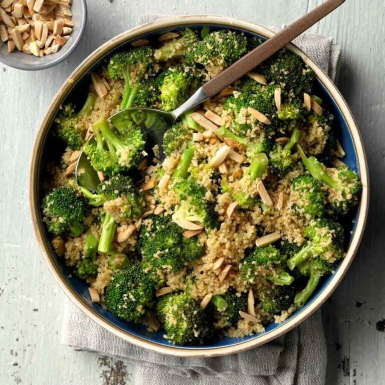 Salade van broccoli en couscous: een licht, gezond recept