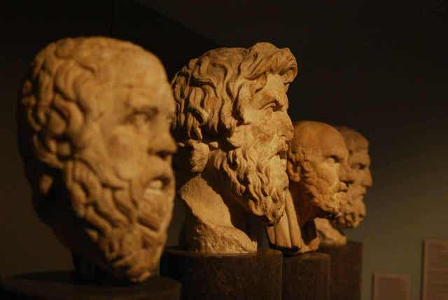 De grote denkers
