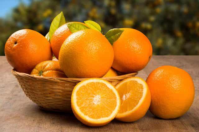 Sinaasappelen bevatten veel voedingsstoffen
